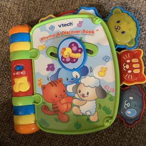 VTech Rhyme and Discover Book for Sale in Las Vegas, NV