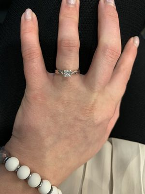 Diamond ring Size 5 for Sale in Prospect Heights, IL