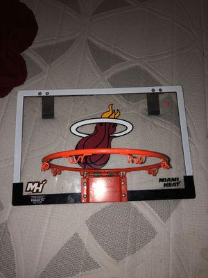 Mini miami heat basketball hoop for Sale in Miami, FL