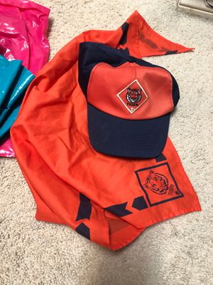 Cub Scouts Tiger hat and scarf for Sale in Plano, TX