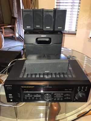 Sony Stereo 5.1 Channel 100 Watt Receiver 5.1 Surround Sound System for Sale in FL, US