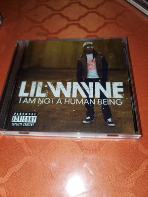 Lil Wayne I am not a human being CD for Sale in The Bronx, NY
