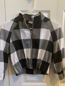 Black and white crop top jacket for Sale in Bend,  OR