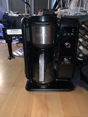 Ninja Hot and Cold Brewed System with Glass Carafe for Sale in Chicago, IL