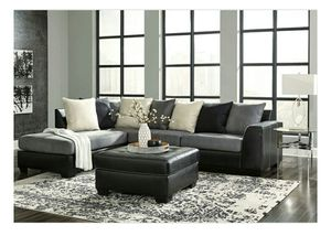 Jacurso Charcoal LAF Sectional for Sale in Fairfax, VA