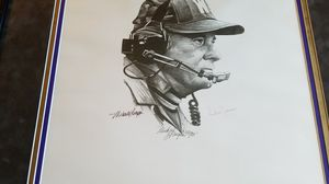 HUSKY FANS- SIGNED Portrait of Coach Don James for Sale in Auburn, WA