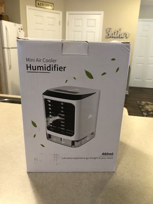 MINI AIR COOLER HUMIDIFIER for Sale in Johnstown, OH