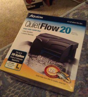 Quiet Flow - Aquarium Power Filter for Sale in Culver City, CA