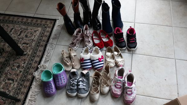 Little girl shoes.