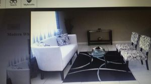 Great Condition !Modern White Sofa & 2 Chairs for Sale in Boynton Beach, FL
