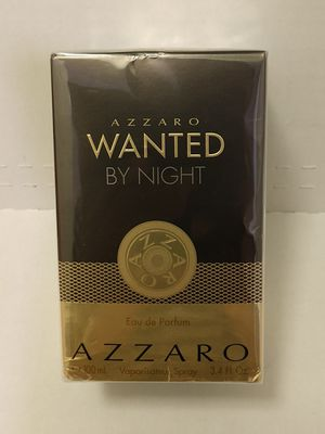"FIRM $63.00, ""WANTED BY NIGHT"", by AZZARO for MEN for Sale in Webberville, TX"