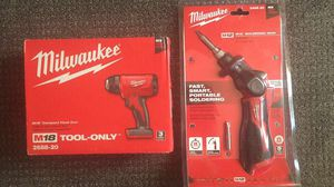 Milwaukee M18 Heat Gun and M12 Soldering Iron (BRAND NEW) for Sale in Queens, NY