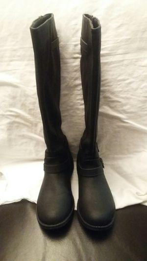 Brash Ladies Knee Boots Black Size 8 W for Sale in North Tonawanda, NY