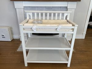 Graco white diaper changing station - baby infant toddler for Sale in Arcadia, CA