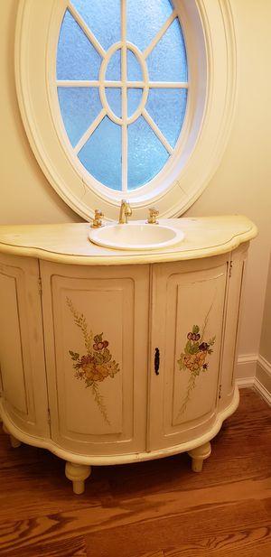 Antique bath vanity for Sale in Fairfield, CT
