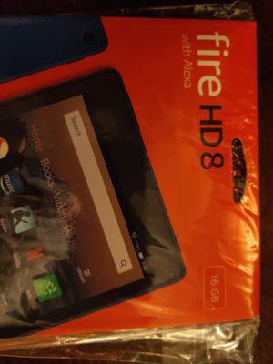 Amazon Fire Tablet HD 8 16GB for Sale in Austin, TX