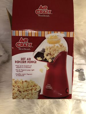 Air Crazy Hot Air Popcorn Popper by West Bend for Sale in Mentor, OH