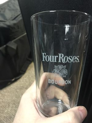 Four roses pint glass for Sale in Jeffersonville, IN