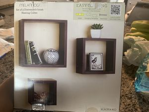 Wall Shelves - Nesting Cubes for Sale in Chicago, IL
