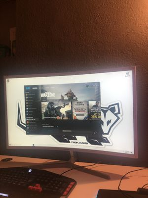 Samsung 32in curved Monitor 60hertz for Sale in Pompano Beach, FL