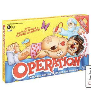 Operations Board Game Age: 6+ for Sale in Milwaukie, OR