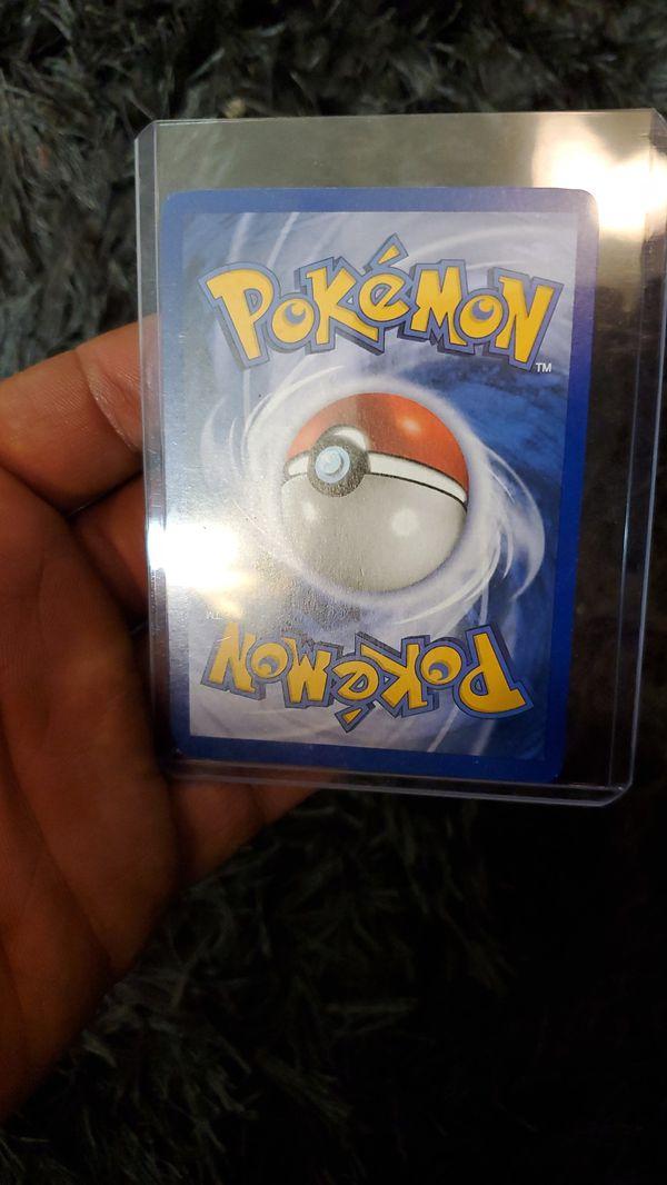 Rare holo vintage pokemon