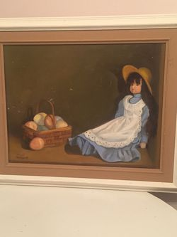 Framed Vintage Oil Painting for Sale in White Plains,  NY