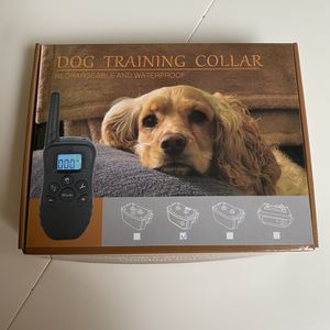 Dog Training Collar, rechargeable and waterproof for Sale in Issaquah, WA