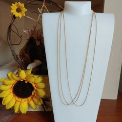 """SALE! (3) 14k gold plated 20"""" chain. - Shipping Only for Sale in Fort Lauderdale,  FL"""
