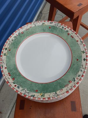 Discontinued 12 Days of Christmas dinner plates by 222 Fifth for Sale in Tulsa, OK