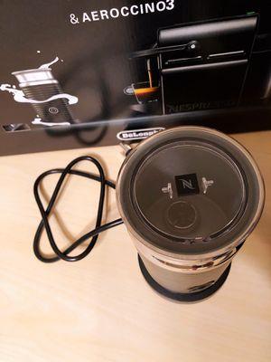 Nespresso Inissia Espresso Machine by De'Longhi with Aeroccino, Black - $120 for Sale in Fairfax, VA