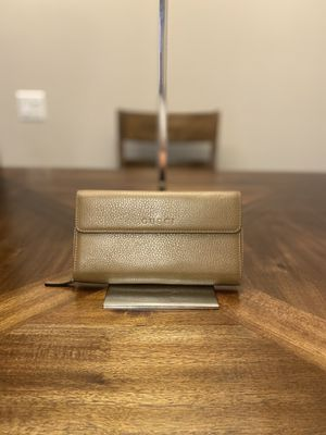 Gucci Brown Leather Wallet for Sale in Temple City, CA