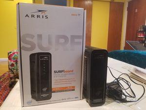 ARRIS SURFboard SBG10 DOCSIS 3.0 Modem & AC1600 Dual Band Wifi Router (compatible w/ Xfinity) for Sale in Tukwila, WA