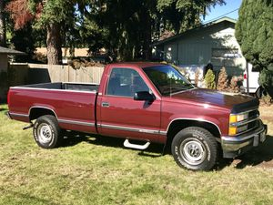 1998 Chevy Silverado 3 quarter ton long bed for Sale in Lynnwood, WA