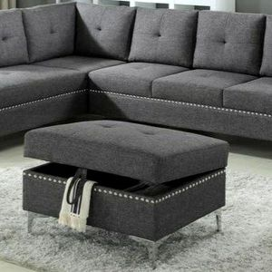 ✅Astra Gray Sectional | U5034 $39 DOWN PAYMENT only for Sale in Arlington, VA
