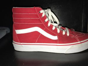 Red high top vans for Sale in Yuma, AZ