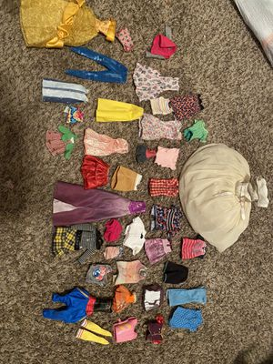 Barbie clothes and Barbie wedding dress for Sale in Albuquerque, NM