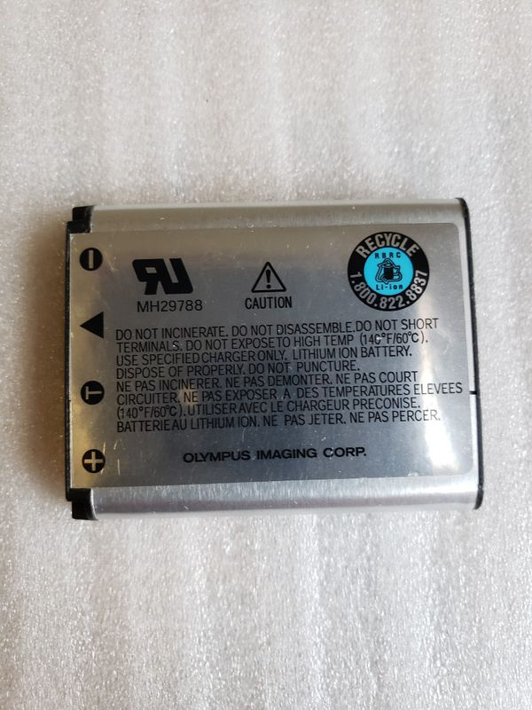 Original, Genuine Olympus Li-42B Camera Battery.