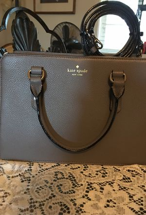 Kate Spade purse. Grey for Sale in Rocklin, CA