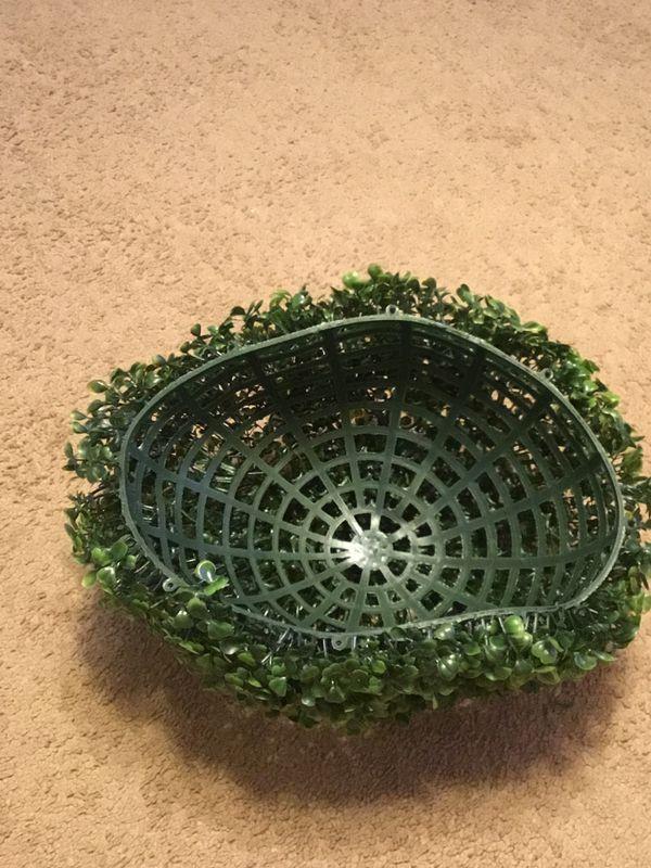 Fake Plastic Plant Bowl