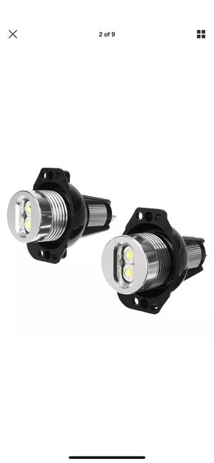 Pair Angel Eyes LED Headlight Halo Ring Light Bulb Fit For BMW E90 E91 3 Series 328i for Sale in Imperial Beach, CA