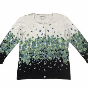 Charter Club Floral Cardigan Sweater - Size PP for Sale in South Windsor, CT