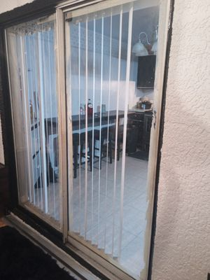 72 x 79 sliding door open and close both side for Sale in Palm Bay, FL