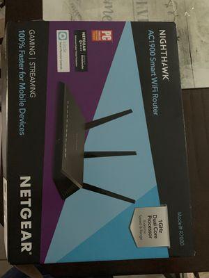 NETGEAR - Nighthawk AC1900 Dual-Band Wi-Fi 5 Router - Black for Sale in Orlando, FL