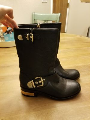 Vince Camuto Winchell Moto Boot size 8; near perfect condition. ALL INFO IN POST BELOW for Sale in Gig Harbor, WA