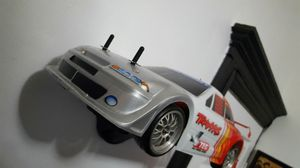 Used, Traxxas 4 tec all wheel drive RC racing sedan XL1 with remote controller 1/10 scale. for Sale for sale  Passaic, NJ