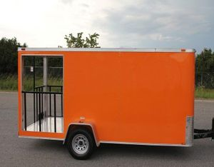 FOOD VENDING BBQ TRAILER for Sale in Brownsville, TX