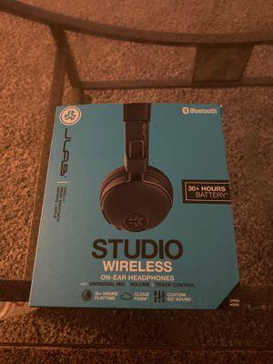 JLab Studio Wireless On-Ear Headphones - Black for Sale in Federal Way, WA