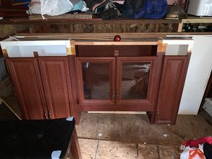 Like new wood kitchen cabinets for Sale in Concord, NC
