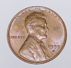Rare 1955 penny good condition for Sale in Tyler, TX